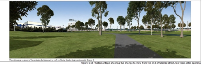 By the end of the 2020s, the park may be dotted with some trees again
